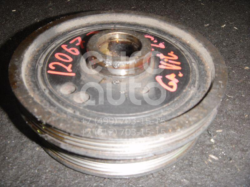 Шкив коленвала для Suzuki Grand Vitara 1998-2005 - Фото №1