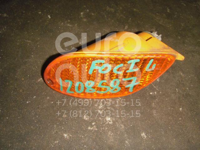 Указатель поворота в бампер левый для Ford Focus I 1998-2005 - Фото №1