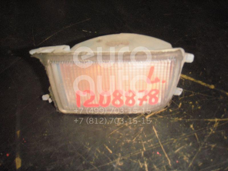 Указатель поворота в бампер левый белый для VW Golf III/Vento 1991-1997 - Фото №1
