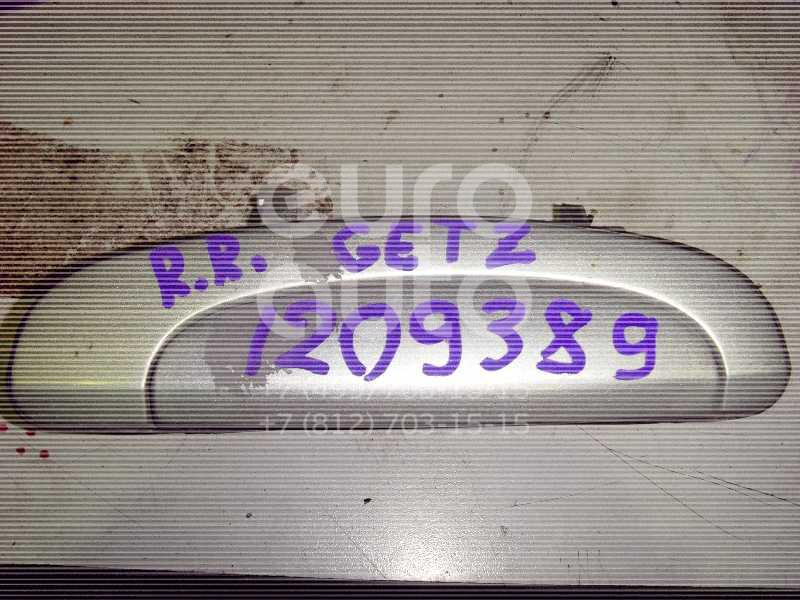 Ручка двери задней наружная правая для Hyundai Getz 2002-2010 - Фото №1