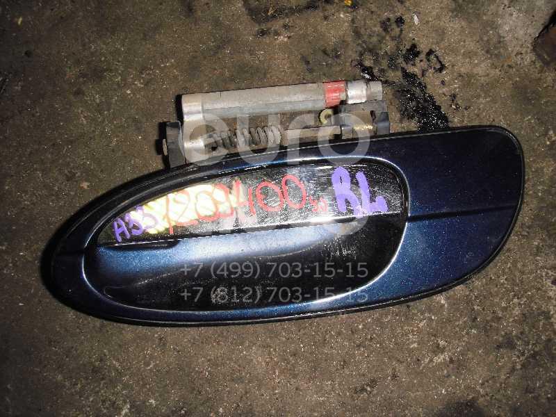 Ручка двери задней наружная левая для Nissan Maxima (A33) 2000-2005 - Фото №1