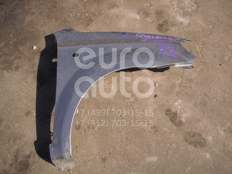 Крыло переднее правое для Chevrolet Aveo (T200) 2003-2008 - Фото №1