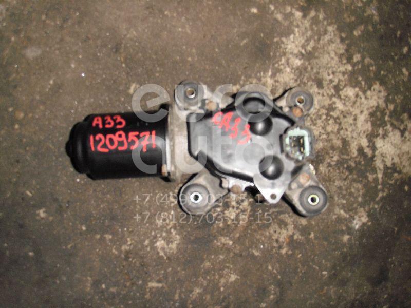 Моторчик стеклоочистителя передний для Nissan Maxima (A33) 2000-2005 - Фото №1