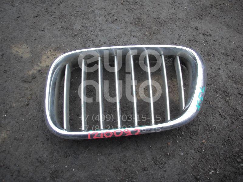Решетка радиатора левая для BMW X5 E53 2000-2007 - Фото №1