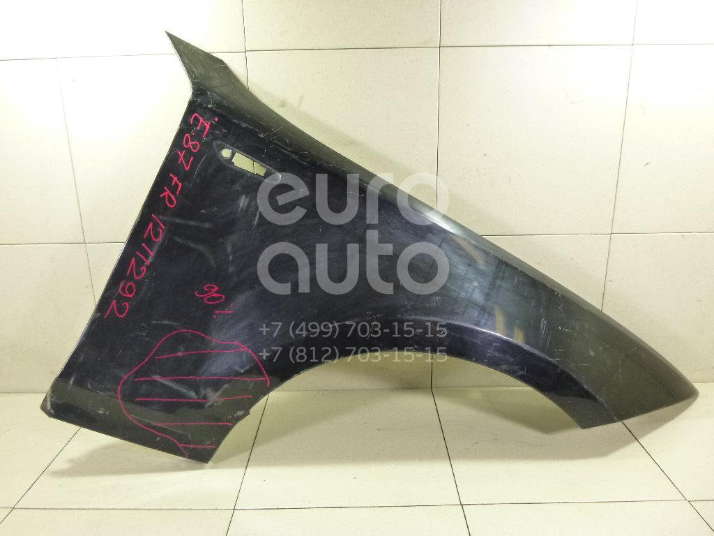 Крыло переднее правое для BMW 1-серия E87/E81 2004-2011 - Фото №1