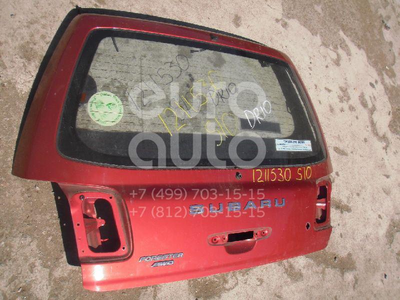 Дверь багажника со стеклом для Subaru Forester (S10) 2000-2002 - Фото №1