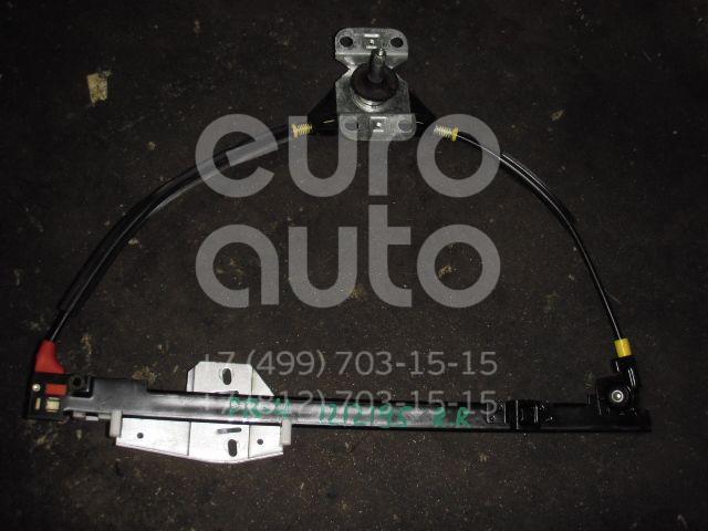 Стеклоподъемник механ. задний правый для VW Passat [B4] 1994-1996;Passat [B3] 1988-1993 - Фото №1