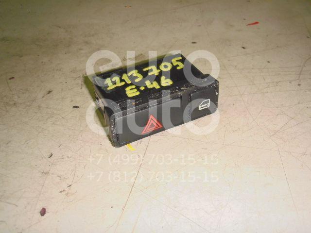 Кнопка аварийной сигнализации для BMW 3-серия E46 1998-2005;X5 E53 2000-2007;Z4 E85/E86 2002-2008 - Фото №1
