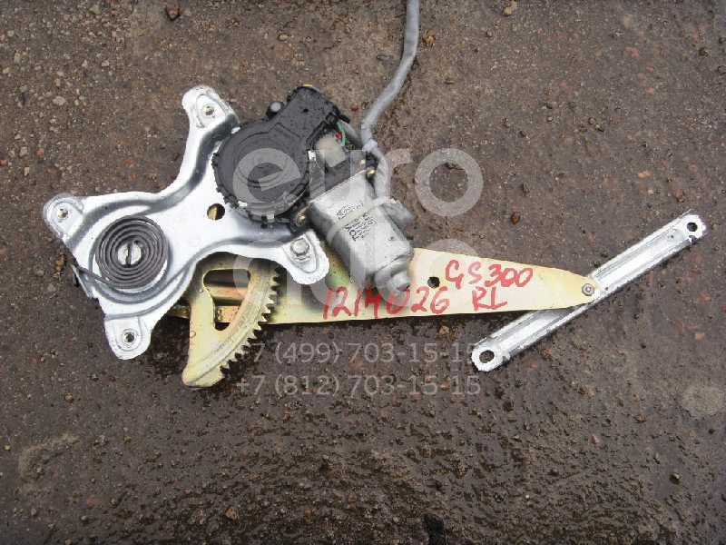 Стеклоподъемник электр. задний левый для Lexus GS 300/400/430 1998-2004 - Фото №1
