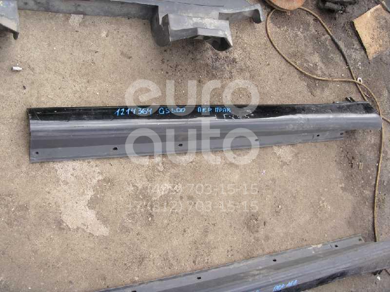 Накладка на порог (наружная) для Lexus GS 300/400/430 1998-2004 - Фото №1