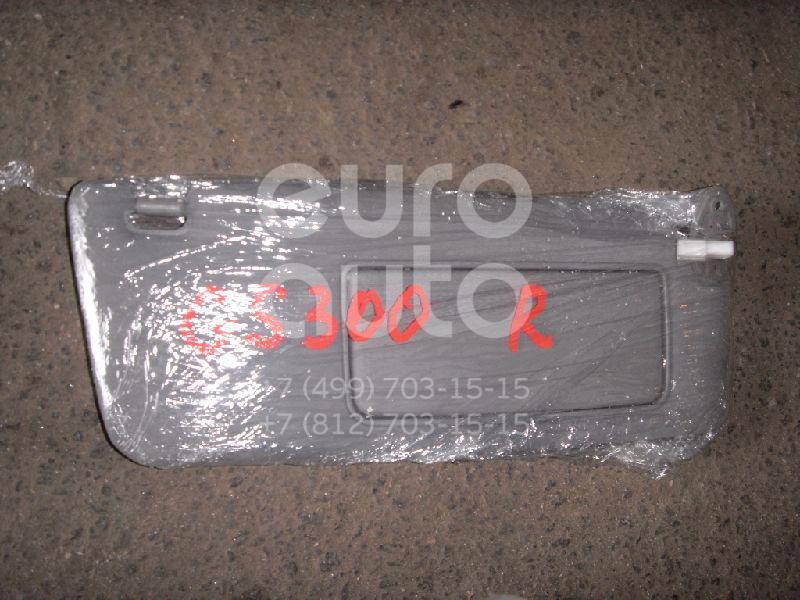 Козырек солнцезащитный (внутри) для Lexus GS 300/400/430 1998-2004 - Фото №1