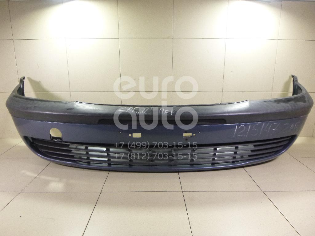 Бампер передний для Opel Zafira (F75) 1999-2005 - Фото №1