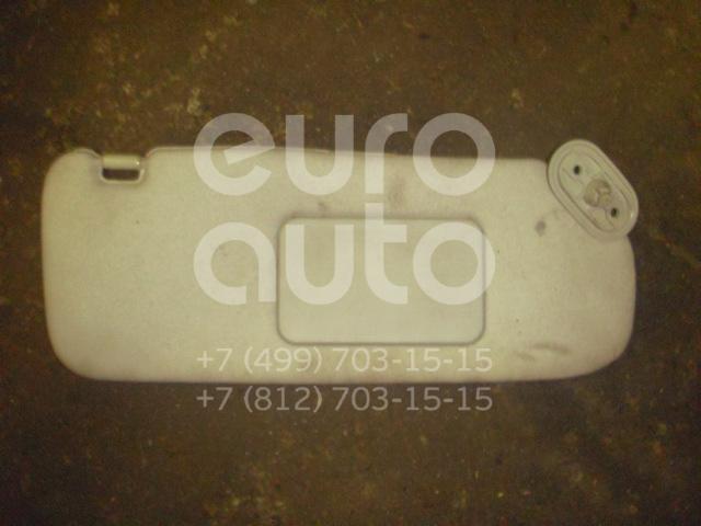 Козырек солнцезащитный (внутри) для Toyota Corolla E12 2001-2006 - Фото №1