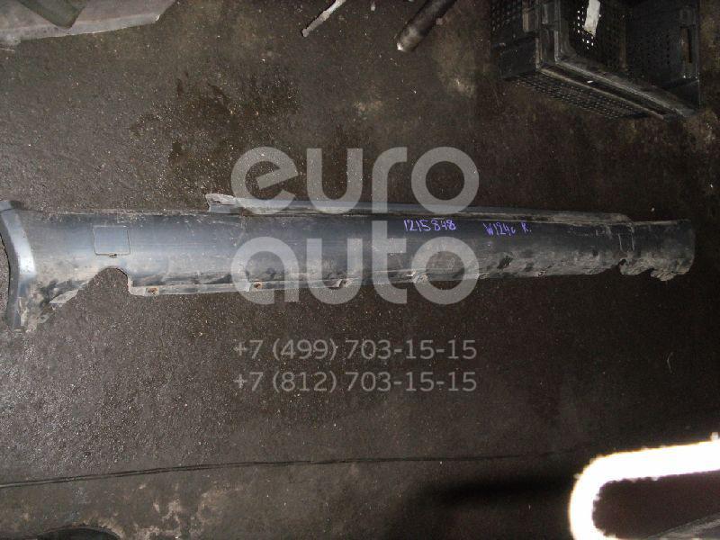 Накладка на порог (наружная) для Mercedes Benz W124 1984-1993 - Фото №1