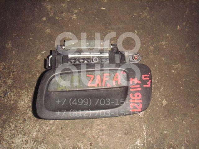 Ручка двери наружная левая для Opel Zafira A (F75) 1999-2005;Astra G 1998-2005 - Фото №1