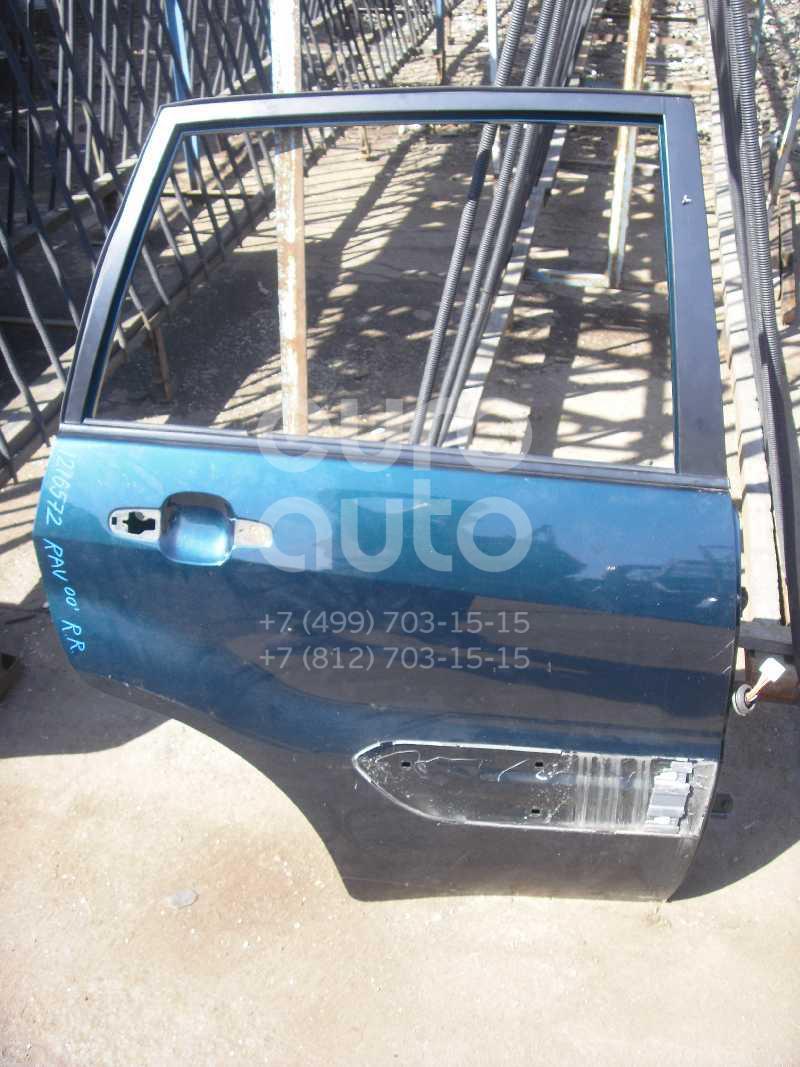 Дверь задняя правая для Toyota RAV 4 2000-2005 - Фото №1