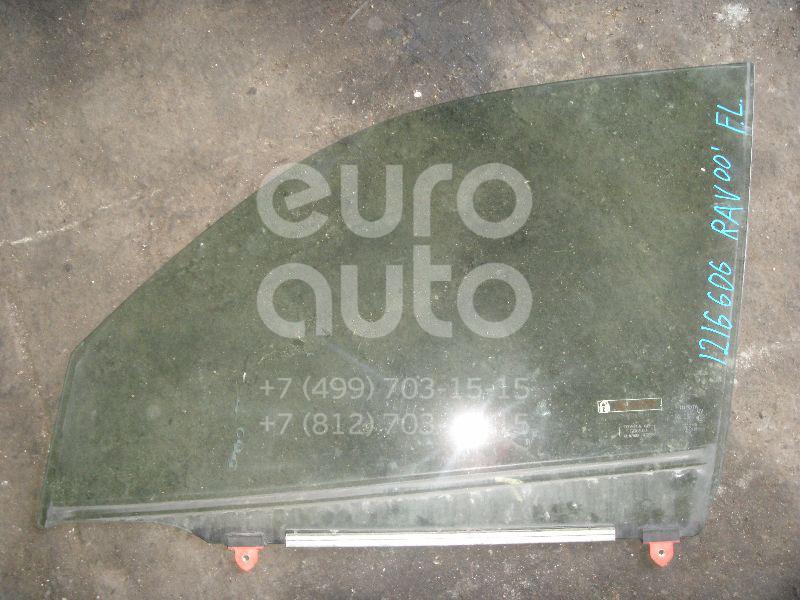 Стекло двери передней левой для Toyota RAV 4 2000-2005 - Фото №1