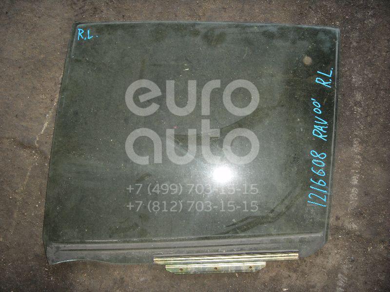 Стекло двери задней левой для Toyota RAV 4 2000-2005 - Фото №1