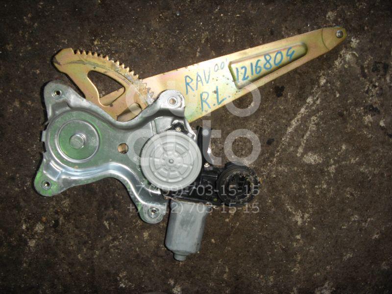 Стеклоподъемник электр. задний левый для Toyota RAV 4 2000-2005 - Фото №1