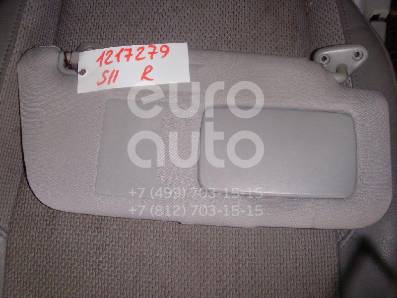 Козырек солнцезащитный (внутри) для Subaru Forester (S11) 2002-2007 - Фото №1