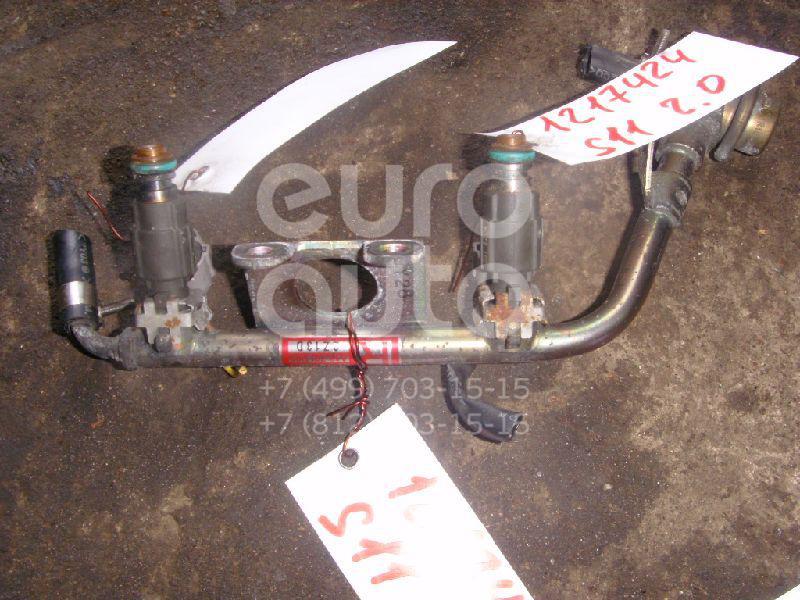 Рейка топливная (рампа) для Subaru Forester (S11) 2002-2007;Forester (S10) 1997-2000;Impreza (G10) 1996-2000;Impreza (G11) 2000-2007;Legacy (B12) 1998-2003;Legacy Outback (B12) 1998-2003 - Фото №1