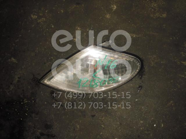 Указатель поворота левый белый для Nissan Almera N16 2000-2006 - Фото №1