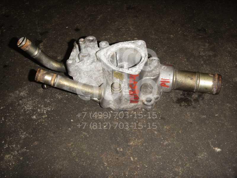 Корпус термостата для Nissan Primera P11E 1996-2002;Primera WP11E 1998-2001;Almera Tino 2000-2006;Almera N16 2000-2006 - Фото №1