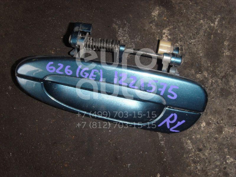 Ручка двери задней наружная левая для Mazda 626 (GE) 1992-1997 - Фото №1