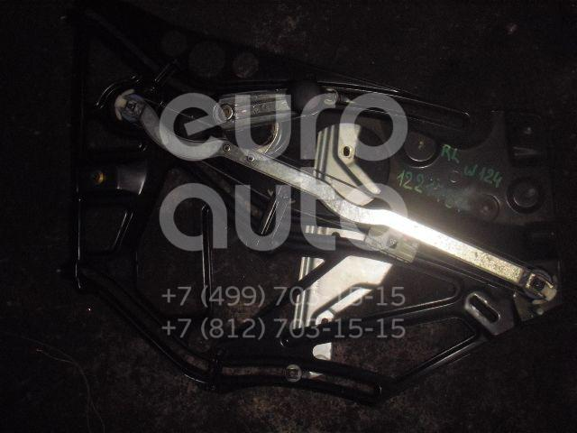 Стеклоподъемник механ. задний левый для Mercedes Benz W124 1984-1993 - Фото №1
