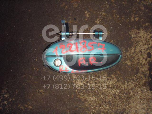 Ручка двери передней наружная правая для Daewoo,Chevrolet Rezzo 2000-2011;Rezzo 2003-2010 - Фото №1