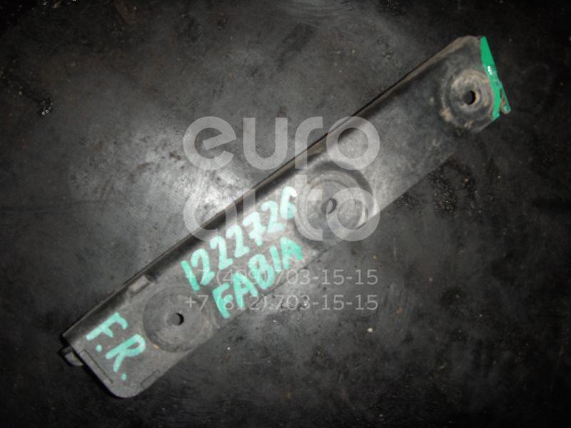 Направляющая переднего бампера правая для Skoda Fabia 1999-2006 - Фото №1