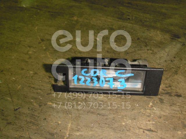 Фонарь подсветки номера для Opel Corsa C 2000-2006;Astra H / Family 2004>;Meriva 2003-2010;Tigra TwinTop 2004>;Vectra C 2002-2008;Zafira B 2005-2012 - Фото №1