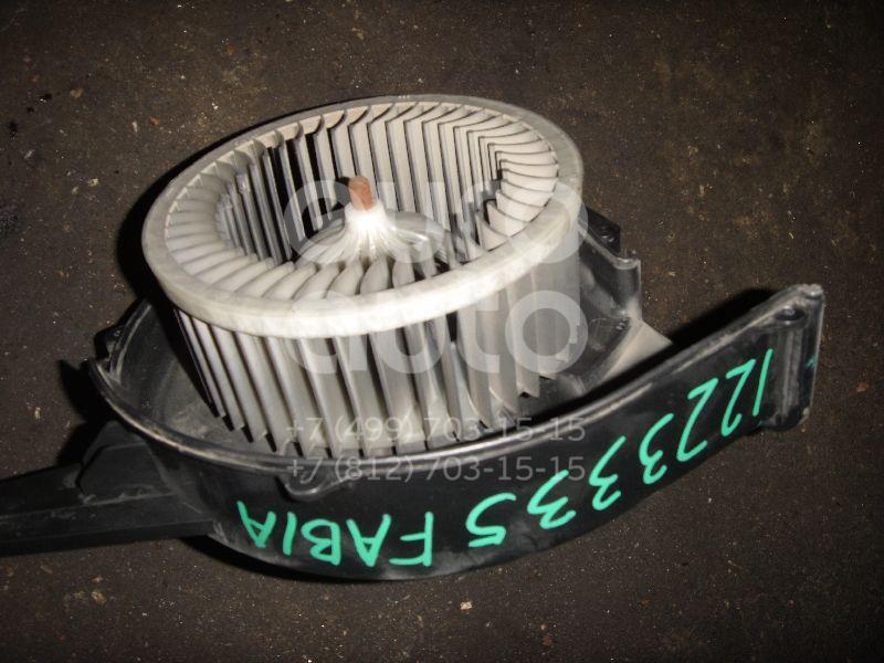 Моторчик отопителя для Skoda,Audi,VW,Seat Fabia 1999-2006;A2 [8Z0] 2000-2005;Polo 2001-2009;Ibiza V 2008>;Fabia 2007-2015;Roomster 2006-2015;Cordoba 2003-2008;Ibiza IV 2002-2008;Polo (HB) 2009>;A1 2010>;Polo (Sed RUS) 2011>;Rapid 2013> - Фото №1