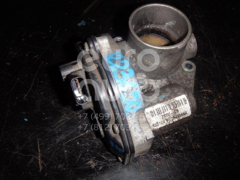 Заслонка дроссельная электрическая для Ford C-MAX 2003-2010;Focus II 2005-2008;Fusion 2002-2012;Fiesta 2001-2008;Focus II 2008-2011 - Фото №1