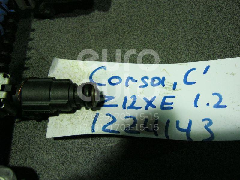 Форсунка инжекторная электрическая для Opel Corsa C 2000-2006;Astra G 1998-2005;Agila A 2000-2008;Zafira A (F75) 1999-2005 - Фото №1