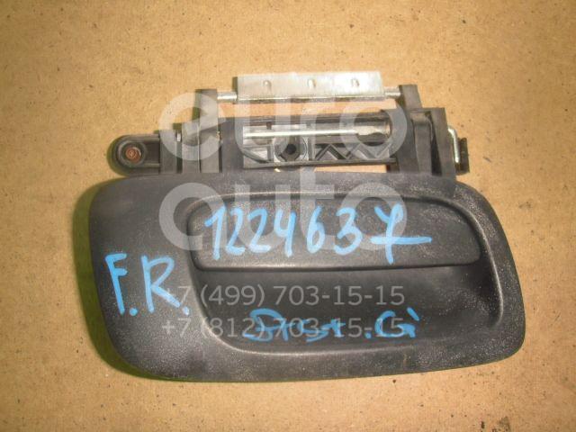 Ручка двери наружная правая для Opel Astra G 1998-2005;Zafira A (F75) 1999-2005 - Фото №1