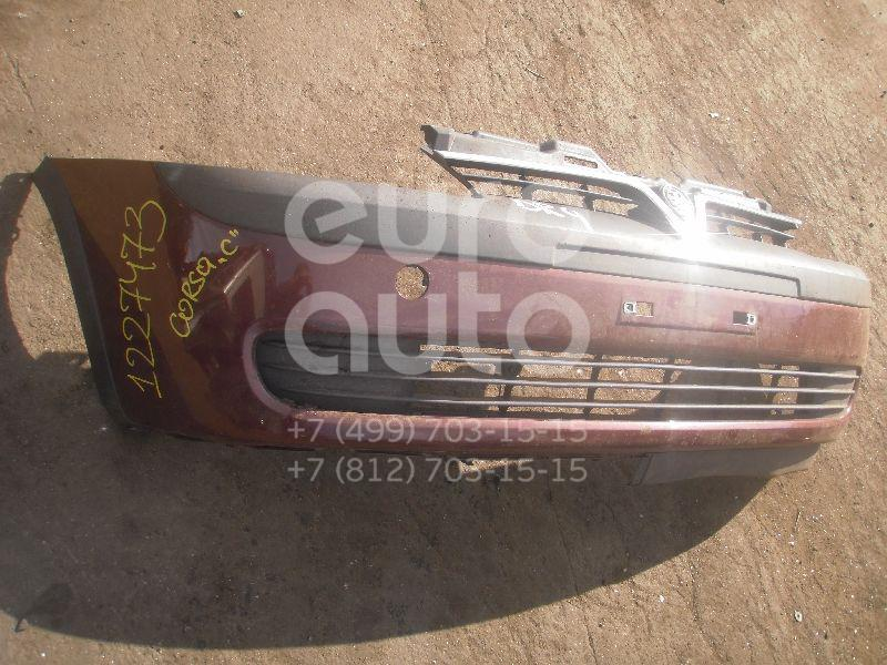 Бампер передний для Opel Corsa C 2000-2006 - Фото №1