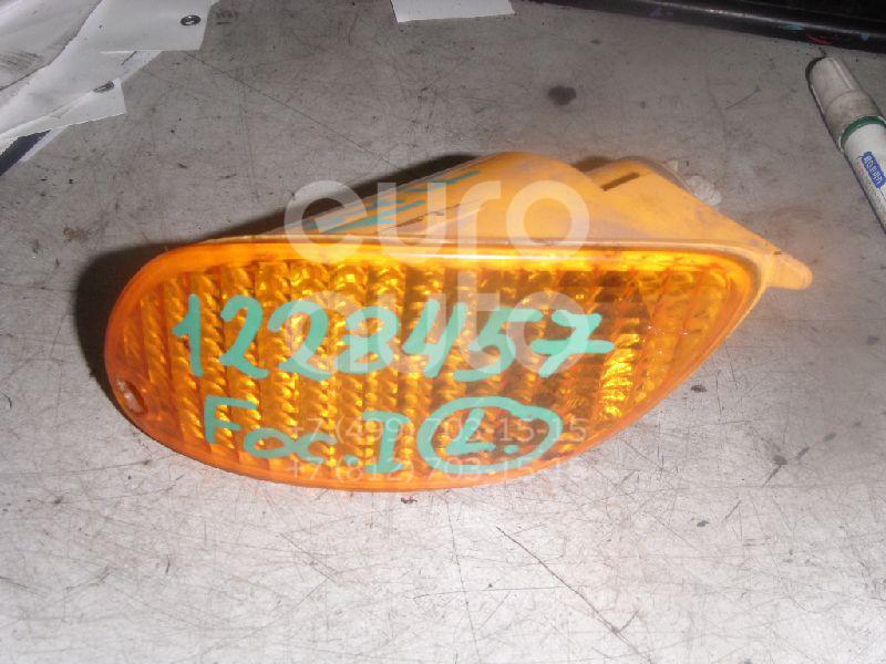 Указатель поворота в бампер левый для Ford Focus I 1998-2004 - Фото №1