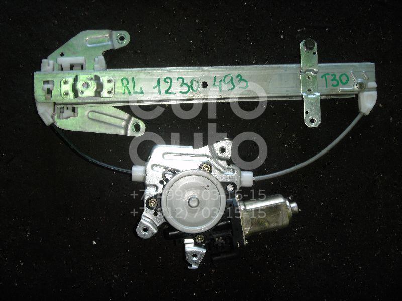 Стеклоподъемник электр. задний левый для Nissan X-Trail (T30) 2001-2006 - Фото №1