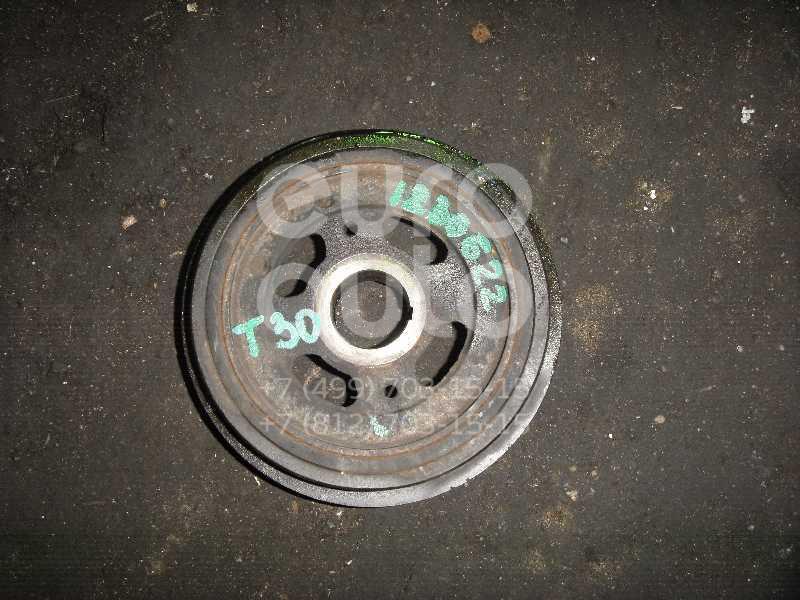 Шкив коленвала для Nissan X-Trail (T30) 2001-2006;Murano (Z50) 2004-2008;Teana J31 2006-2008;Primera P12E 2002-2007 - Фото №1