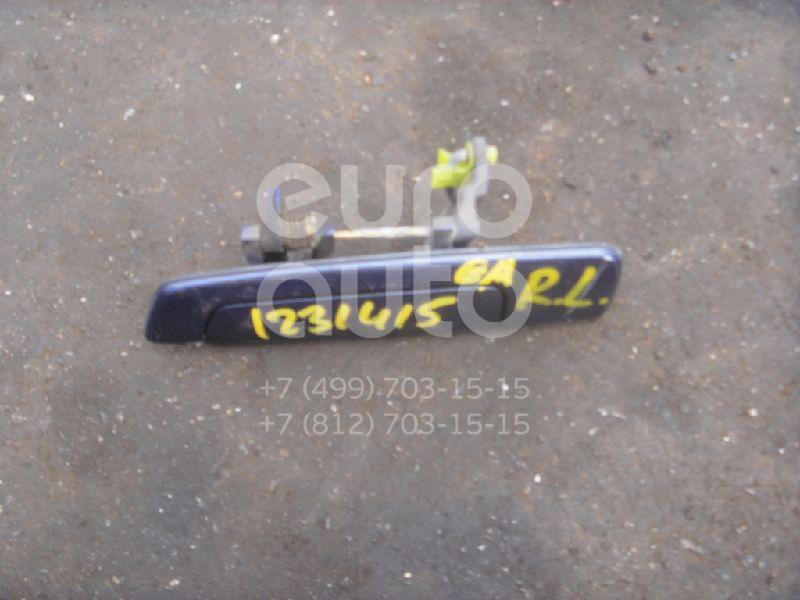 Ручка двери задней наружная левая для Mitsubishi Galant (EA) 1997-2003 - Фото №1