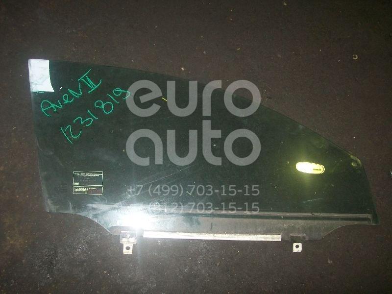 Стекло двери передней правой для Toyota Avensis II 2003-2008 - Фото №1
