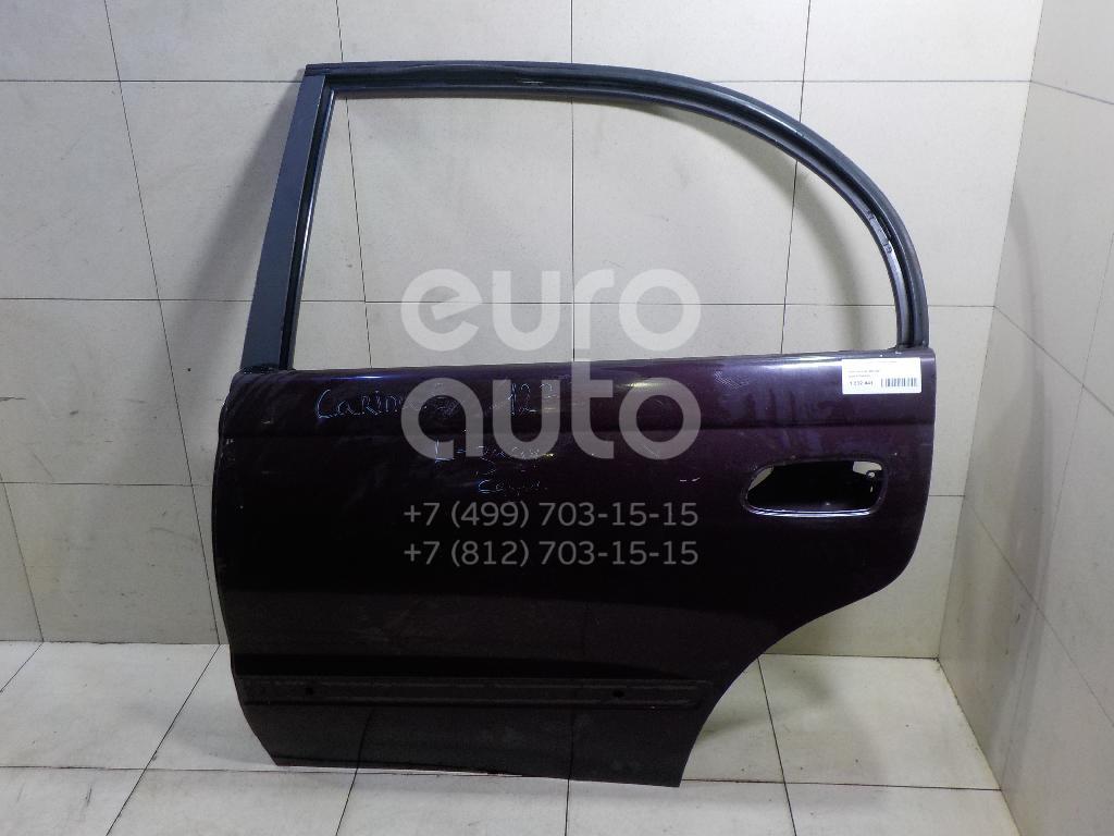 Дверь задняя левая для Toyota Carina E 1992-1997 - Фото №1