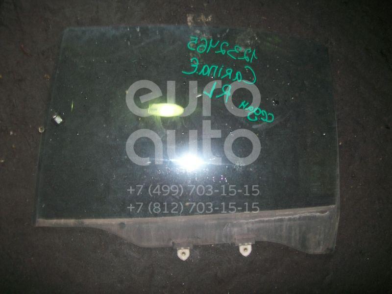 Стекло двери задней левой для Toyota Carina E 1992-1997 - Фото №1