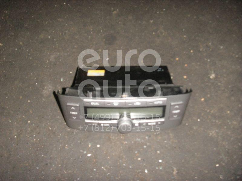 Блок управления климатической установкой для Toyota Avensis II 2003-2008 - Фото №1
