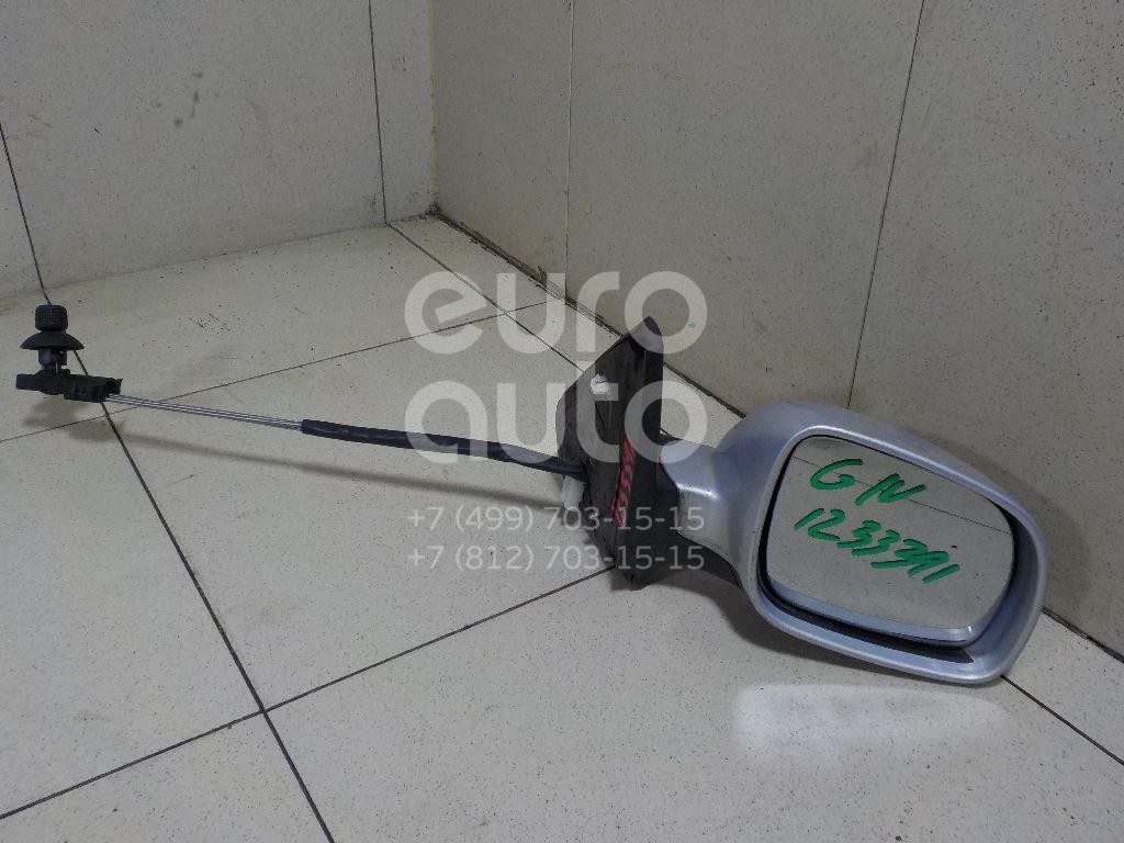 Зеркало правое механическое для VW Golf IV/Bora 1997-2005 - Фото №1