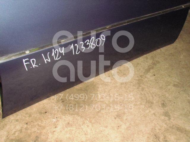 Молдинг передней правой двери для Mercedes Benz W124 1984-1993 - Фото №1
