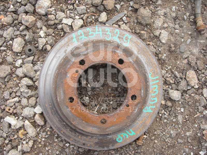 Диск тормозной передний не вентилируемый для Suzuki Jimny FJ 1998>;Samurai 1990-2000;Vitara/Sidekick 1989-1999 - Фото №1