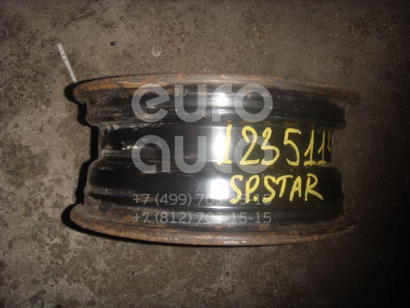 Диск колесный железо для Mitsubishi Space Star 1998-2004;Carisma (DA) 1995-2000;Carisma (DA) 2000-2003 - Фото №1