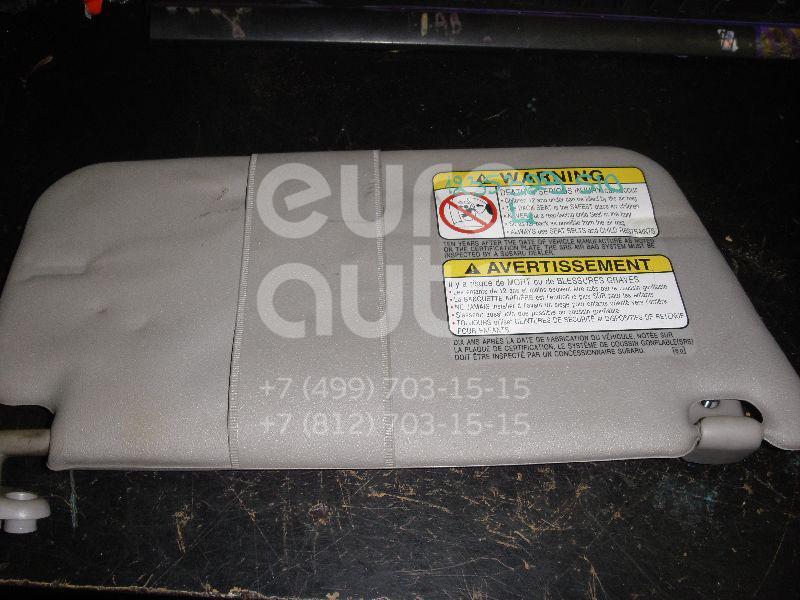 Козырек солнцезащитный (внутри) для Subaru Forester (S10) 2000-2002 - Фото №1